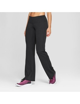 """Women's Everyday Mid Rise Flare Pants 31.5""""   C9 Champion® Black by C9 Champion®"""