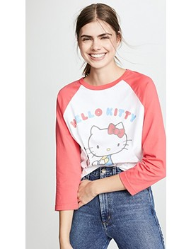 Hello Kitty Baseball Tee by Chinti And Parker