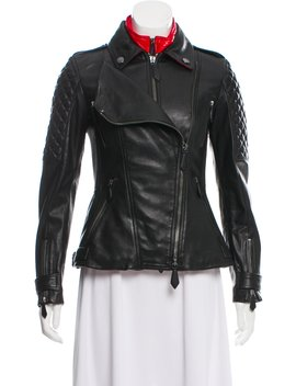 Quilted Leather Jacket W/ Vest W/ Tags by Burberry