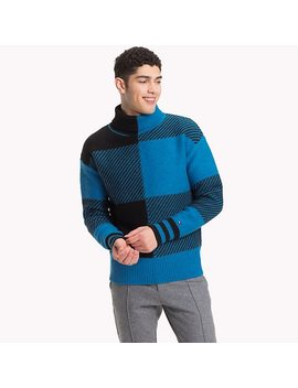 Buffalo Check Oversized Sweater by Tommy Hilfiger