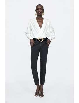 Wrap Bodysuit  View All Dress Time Woman Corner Shops by Zara