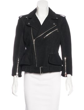 Leather Moto Jacket W/ Tags by Alexander Mc Queen