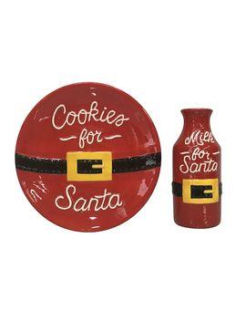 "St. Nicholas Square® ""Cookies For Santa"" Set by St. Nicholas Square"