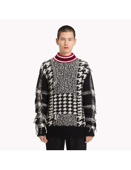 Houndstooth Check Jumper by Tommy Hilfiger