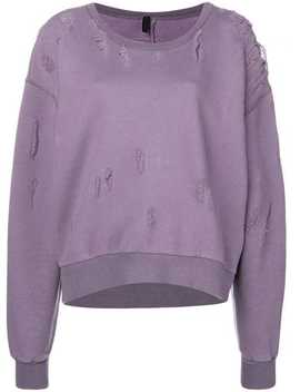 Distressed Sweatshirt by Unravel Project