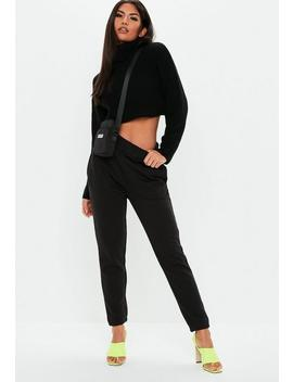 Black Basic Joggers by Missguided