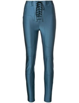 Lace Up Leggings by Unravel Project