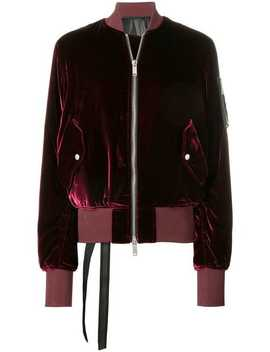 Fitted Velvet Bomber by Unravel Project