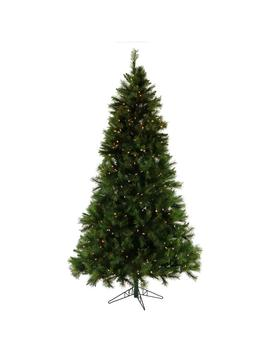 7.5 Ft. Pre Lit Canyon Pine Artificial Christmas Tree With Smart String Lighting by Fraser Hill Farm
