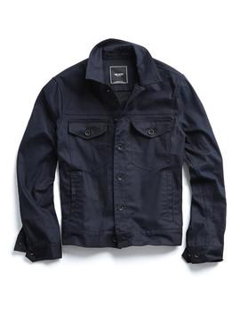 Cotton Twill Dylan Jacket In Navy by Todd Snyder