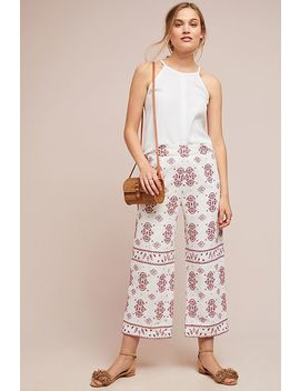 Jadida Embroidered Trousers by Ett:Twa