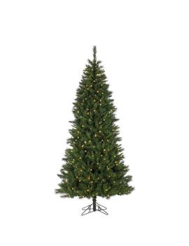 7.5 Ft. Pre Lit Sugar Pine Artificial Christmas Tree With 250 Ul Color Changing Led Lights And 8 Function Remote by Home Depot