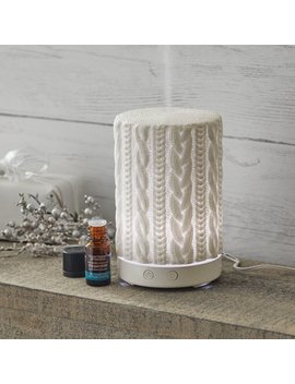 Better Homes & Gardens 3 Piece Knit Textured 100 M L Cool Mist Ultrasonic Aroma Diffuser Set by Better Homes & Gardens
