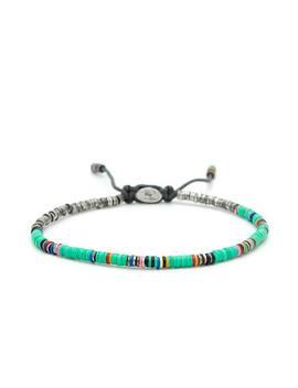 M. Cohen Mini African Turquoise Disc Bracelet by M. Cohen