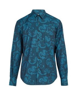 Model 1 Cotton Jacquard Shirt by Cobra S.C.