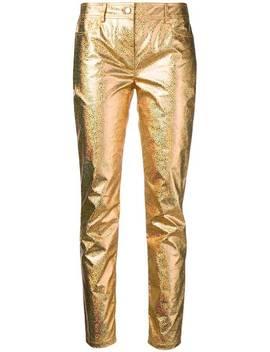 Slim Fit Trousers by Jeremy Scott