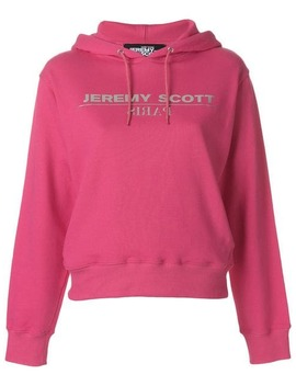 Logo Hooded Sweatshirt by Jeremy Scott
