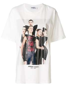 Front Printed T Shirt by Jeremy Scott