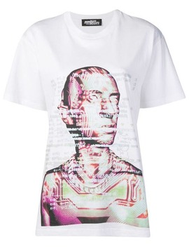 Face Print T Shirt by Jeremy Scott
