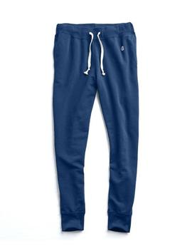 Slim Jogger Sweatpant In Marine Blue by Todd Snyder + Champion