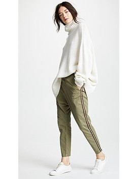 Paris Pants With Tape Trim by Nili Lotan