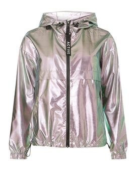 **Only Silver Hooded Parka Coat by Dorothy Perkins