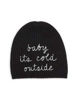 Baby It's Cold Outside Beanie by Kate Spade New York