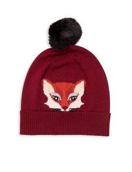 Foxy Faux Fur Beanie by Kate Spade New York