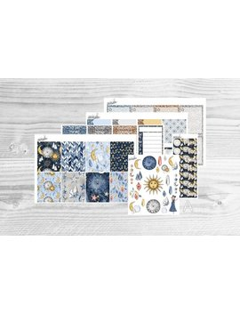 Zodiac Weekly Kit | Planner Stickers For Erin Condren Vertical & Horizontal, Happy Planner And Big Happy Planner [Color Variations] by Etsy