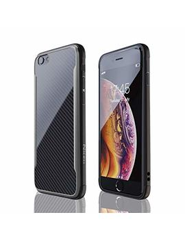 I Phone 6 Case | I Phone 6 S Case | Shockproof, 12ft. Drop Tested, Carbon Fiber Case, Lightweight, Scratch Resistant, Compatible With Apple I Phone 6|I Phone 6 S   Black by Nicexx