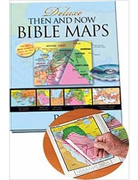 Deluxe Then And Now Bible Map Book With Cd Rom by Rose Publishing
