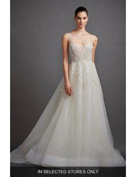 Gabriela Beaded Lace & Tulle Ballgown by Lazaro