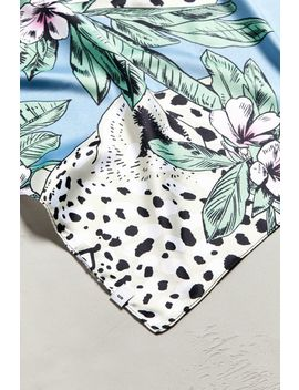 Floral Leopard Bandana by Urban Outfitters