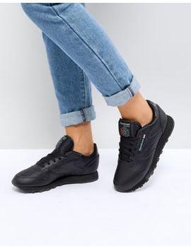 Reebok Classic – Sneaker Aus Schwarzem Leder by Asos