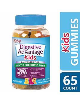 Digestive Advantage Kids Prebiotic Fiber Plus Probiotic Gummies 65 Ea by Digestive Advantage
