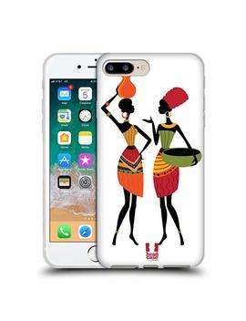 Head Case Designs Gossip African Pattern Series 1 Soft Gel Case For I Phone 7 Plus/I Phone 8 Plus by Head Case Designs