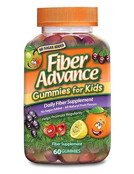 Fiber Advance For Kids Gummies, 60 Count (Pack Of 3) by Fiber Advance For Kids
