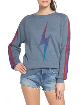 Bolt Fade Sweatshirt by Aviator Nation