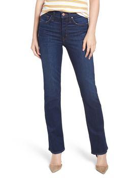 Caslon(R) Madrona High Waist Bootcut Jeans (River) (Regular & Petite) by Caslon
