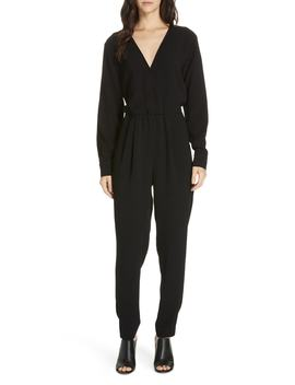Marino Wrap Front Jumpsuit by Brochu Walker