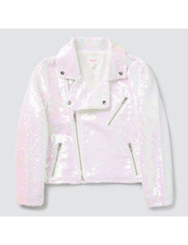 Irridescent Sequin Jacket by Seed Heritage