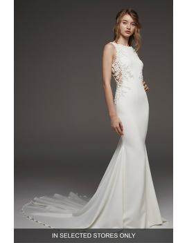 Hosta V Back Mermaid Gown by Atelier Pronovias