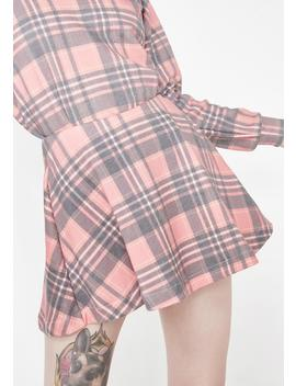 Sweetheart Plaid Villa Skirt by Wildfox Couture