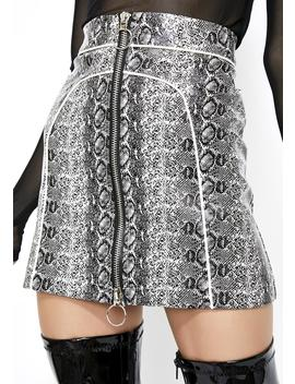 Switchblade Sis Mini Skirt by Clara Story