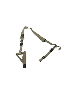 """S2 Delta Usa Made Premium 2 Point Rifle Sling, Fast Adjustment, Modular Attachment Connections, Comfortable 2"""" Wide Shoulder Strap by S2 Delta"""