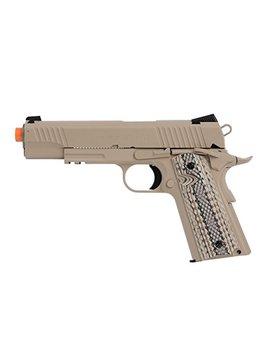 Kwc Colt 1911 Rail Pistol Co2 Full Metal Blowback by Kwc