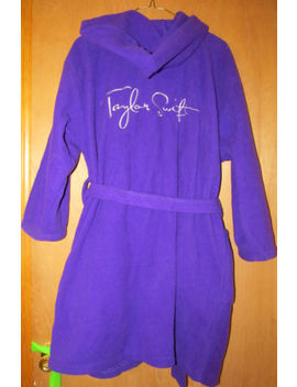 Taylor Swift   Fearless Or Speak Now Cd Era Bathrobe Stage Robe Concert Official by Ebay Seller