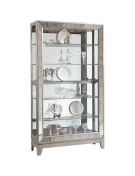 Willa Arlo Interiors Acubens Lighted Curio Cabinet & Reviews by Willa Arlo Interiors