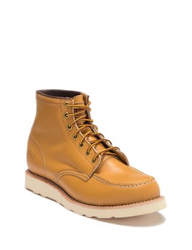 Janesville Leather Moc Toe Boot by Thorogood