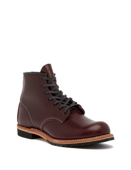 Beckman Lace Up Leather Boot   Factory Second   Multiple Widths Available by Red Wing